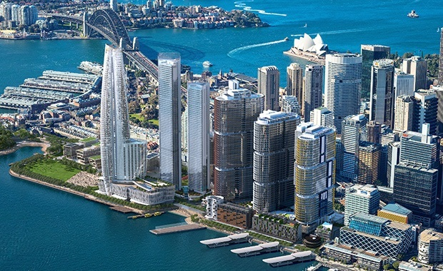 Barangaroo waterfront precinct